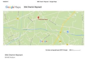 556 Chemin Reynard - GoogleMaps