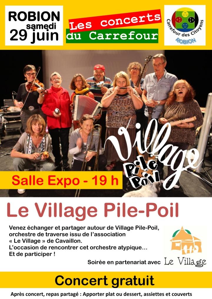 2019-29 juin -Fly concert PilPoil